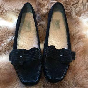 Ugg suede slipper